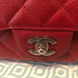 CHANEL Bags - Authentic Chanel Jumbo Caviar SHW